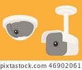 surveillance, camera, security 46902061
