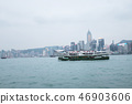 Star Ferry sailing at the Victoria Harbbour 46903606