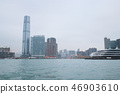 Victoria Harbour HK skyline cityscape downtown 46903610