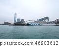 Victoria Harbour HK skyline cityscape downtown 46903612