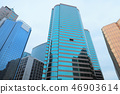 a Business office tower at hong kong day time 46903614