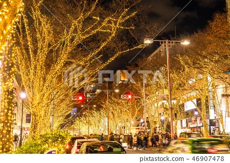 東京表Omotesando·冬季照明 46907478