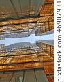 Gold windows building at Tsim Sha Tsui 46907931