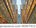 Gold windows building at Tsim Sha Tsui 46907932
