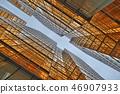 Gold windows building at Tsim Sha Tsui 46907933