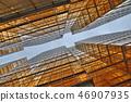 Gold windows building at Tsim Sha Tsui 46907935