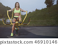 athlete exercise female 46910146