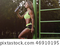 athlete female fitness 46910195