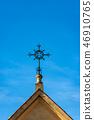 Wrought Iron Cross - Religious symbol 46910765