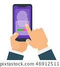 指纹 传感器 灵敏元件 46912511