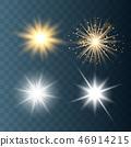 햇빛, 배경, 벡터 46914215