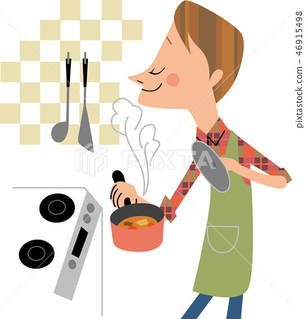 男人的烹飪 46915498
