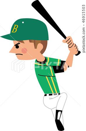 야구의 타격 폼 46915503