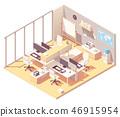office, interior, desk 46915954