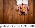 女人的手與禮物 46915988