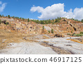 Remains of the old mines of Riotinto in Huelva 46917125