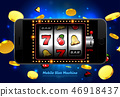 lucky slot machine casino on mobile phone 46918437