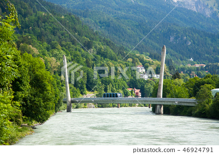 Innsbruck funicular bridge view 46924791
