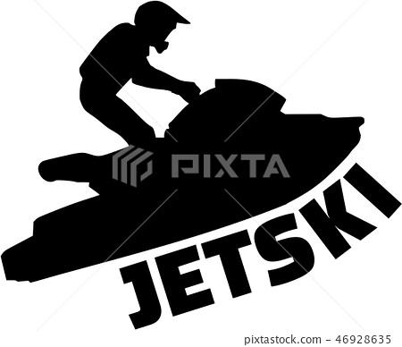 Jet ski driver 46928635