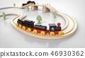 玩具鐵路和火車 46930362