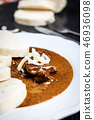 Beef goulash with dumplings 46936098