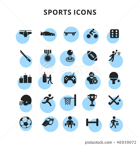Sports Icons  46939072