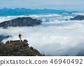 female hiker mountain 46940492