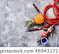 Oriental shisha with pineapple 46943172