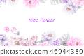 好看的玫瑰花和牡丹花花卉 46944380
