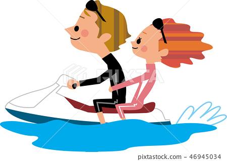 Water bike 46945034
