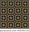벡터, 금, 디자인 46946310