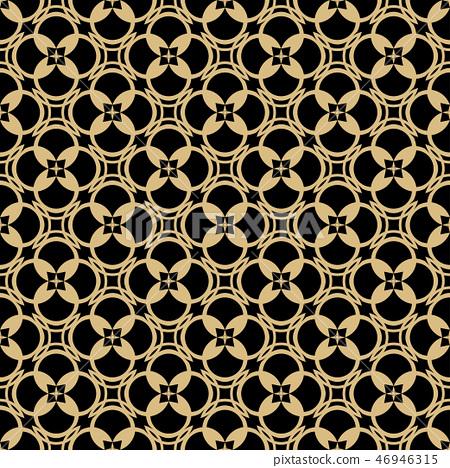Islamic seamless geometrical pattern. 46946315