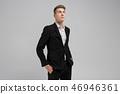 man, suit, businessman 46946361