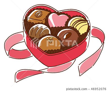 情人節巧克力 46952076
