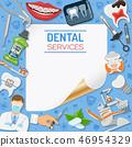 Dental Services Banner and Frame 46954329