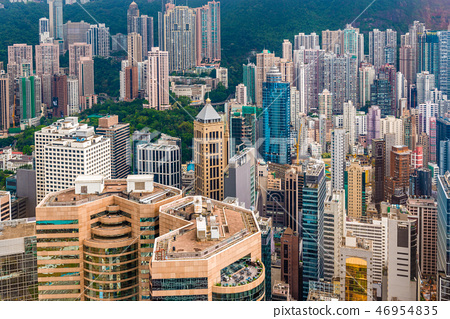 Hong Kong China Cityscape 46954835
