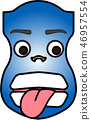 블루, 파랑, 파란색 46957554