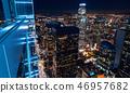 Aerial view of Los Angeles, CA 46957682