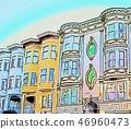 샌프란시스코의 거리 풍경 46960473