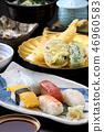 생선 요리 스시 초밥 튀김 일본 요리 일본 요리 이미지 정식 이미지 일식 이미지 음식 46960583