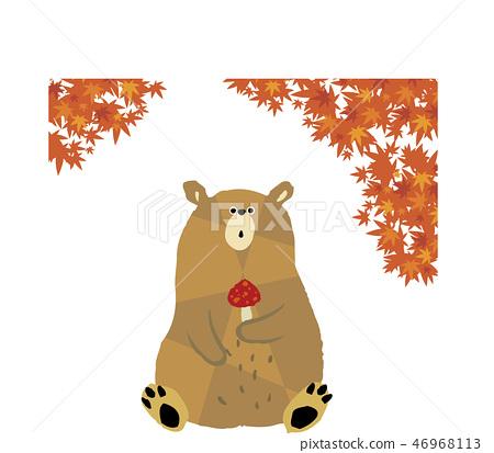 단풍과 곰 46968113