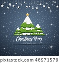 Happy New Year Merry Christmas 2019 with blue navy 46971579