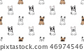 개, 강아지, 프렌치 46974546