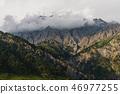 ภูเขา,สันเขา,เมฆ 46977255