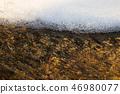 겨울 풍경, 얼음과 흐르는 시냇물 46980077