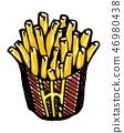 감자 튀김 46980438