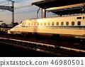 與哨子一起跑的新幹線 46980501