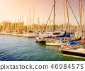 码头 小船坞 船 46984575