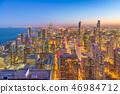 芝加哥 城市 地平线 46984712