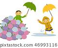 雨衣 儿童 孩子 46993116